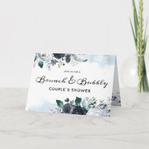 French Twilight Brunch & Bubbly Couple's Shower Invitation