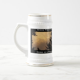 French Vanilla Ice Cream Sky Stein Mug