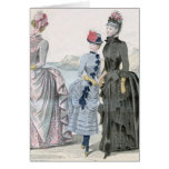 French Victorian Women Greeting Card