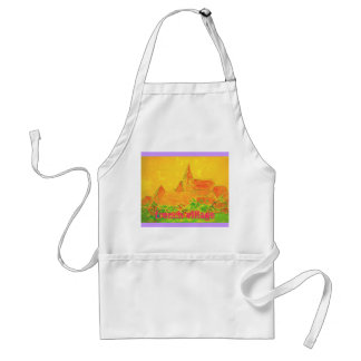 french village aprons