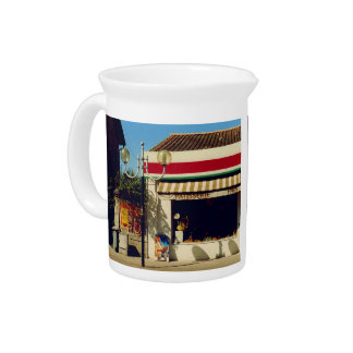 French Village Bakery Drink Pitcher