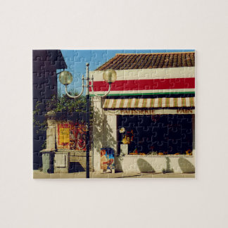 French Village Bakery Jigsaw Puzzle