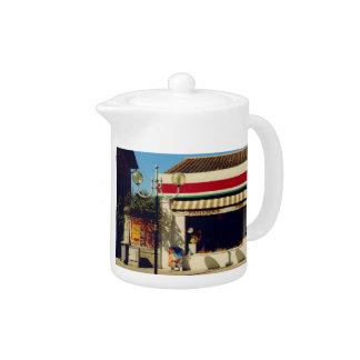 French Village Bakery Teapot