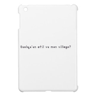 French-Village Case For The iPad Mini