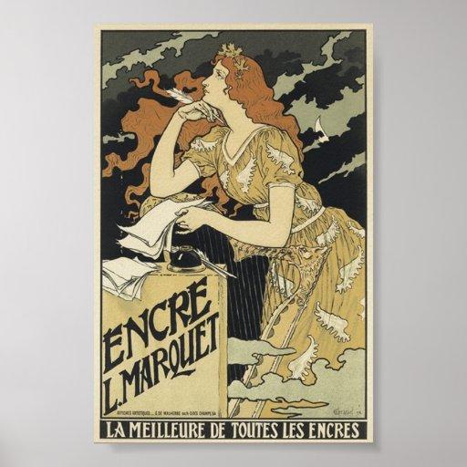 French Vintage Art Nouveau Posters | Zazzle