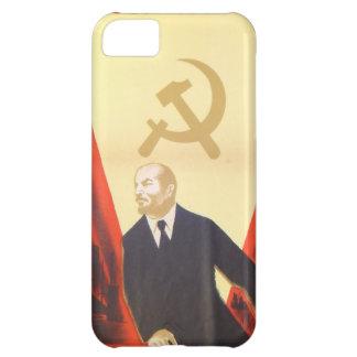 French Vintage Communist Propaganda iPhone 5C Cover