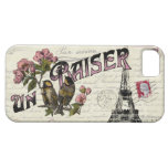 French Vintage Love iPhone Case iPhone 5 Case