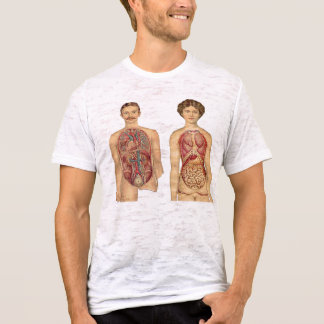 French Vintage Organ Couple T-Shirt