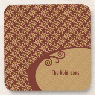 French Vintage Pattern Coaster