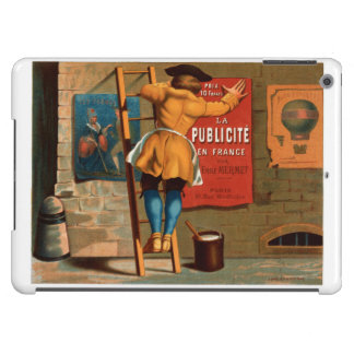 French Vintage Poster 1880 Restored iPad Air Cover