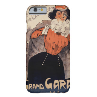French Vintage Poster ca. 1890 Restored Barely There iPhone 6 Case