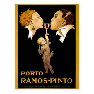 French Vintage Poster Restored Postcard