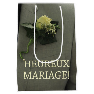 French Wedding congrats gift bag