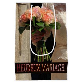 French Wedding congrats gift bag Medium Gift Bag