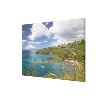 FRENCH WEST INDIES (FWI), Guadaloupe, Basse, Canvas Print