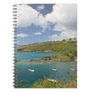 FRENCH WEST INDIES (FWI), Guadaloupe, Basse, Spiral Notebook