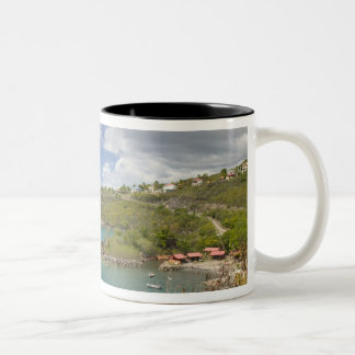 FRENCH WEST INDIES (FWI), Guadaloupe, Basse, Two-Tone Coffee Mug