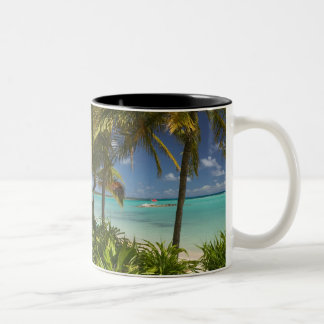 French West Indies, Guadaloupe, Grande Terre, 2 Two-Tone Coffee Mug