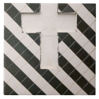 French West Indies, Guadaloupe, Grande Terre, Ceramic Tile
