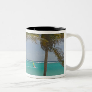 French West Indies, Guadaloupe, Marie, Galante 2 Two-Tone Coffee Mug
