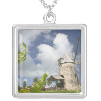 French West Indies, Guadaloupe, Marie, Galante Silver Plated Necklace