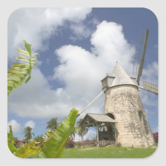French West Indies, Guadaloupe, Marie, Galante Square Stickers