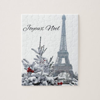 French White Christmas Puzzles