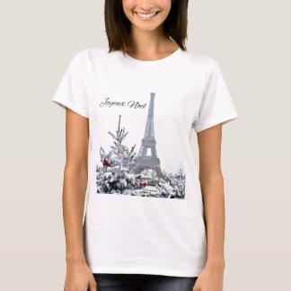 French White Christmas T-Shirt