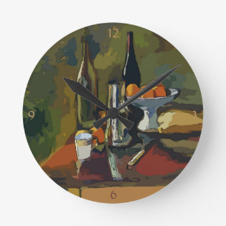 French Wine Country, Round Clock