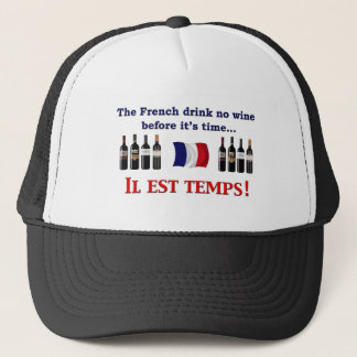 French Wine Drinkers Trucker Hat