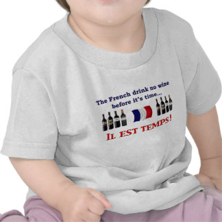 French Wine Drinkers Shirts