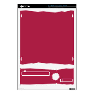 FRENCH WINE RED (an intoxicating color) ~~~~~~~~~~ Decal For The Xbox 360 S