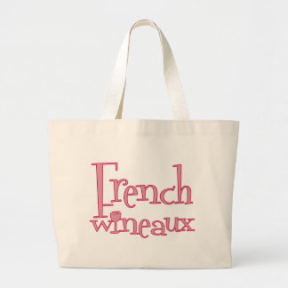 French Wineaux Canvas Bags