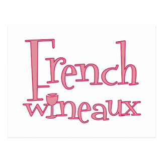 French Wineaux Postcard