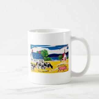 French Words on the Farm Coffee Mug