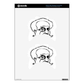 French writer Alexandre Dumas by Felix Vallotton Xbox 360 Controller Decal