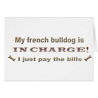 frenchbulldog card