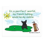 FrenchBulldogBlk Postcard