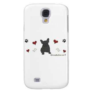 FrenchBulldogBlk Samsung Galaxy S4 Covers