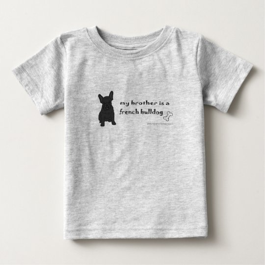FrenchBulldogBlkBrother Baby T-Shirt