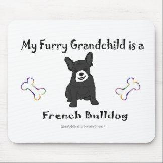 FrenchBulldogBlkWt Mouse Pad
