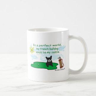 FrenchBulldogBlkWt Coffee Mugs