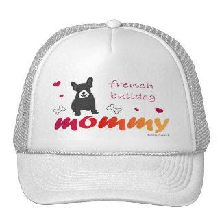 FrenchBulldogBlkWtMommy Trucker Hat
