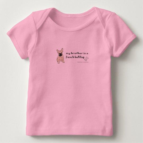 FrenchBulldogFawnBrother Baby T-Shirt