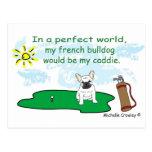 FrenchBulldogWt Postcard