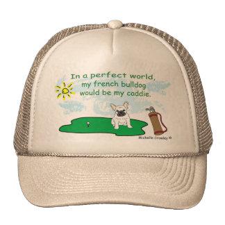 FrenchBulldogWt Trucker Hat