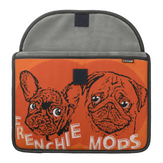 Frenchie and pug sleeves for MacBook pro
