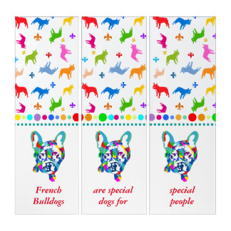 Frenchie Banner Triptych