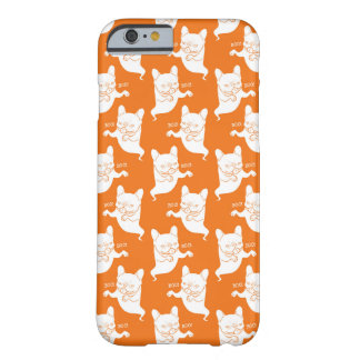 Frenchie Boo Boo Halloween Ghost Barely There iPhone 6 Case