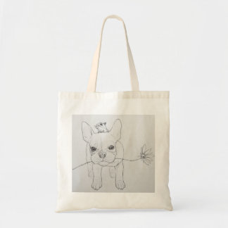 FRENCHIE BUDGET TOTE BAG